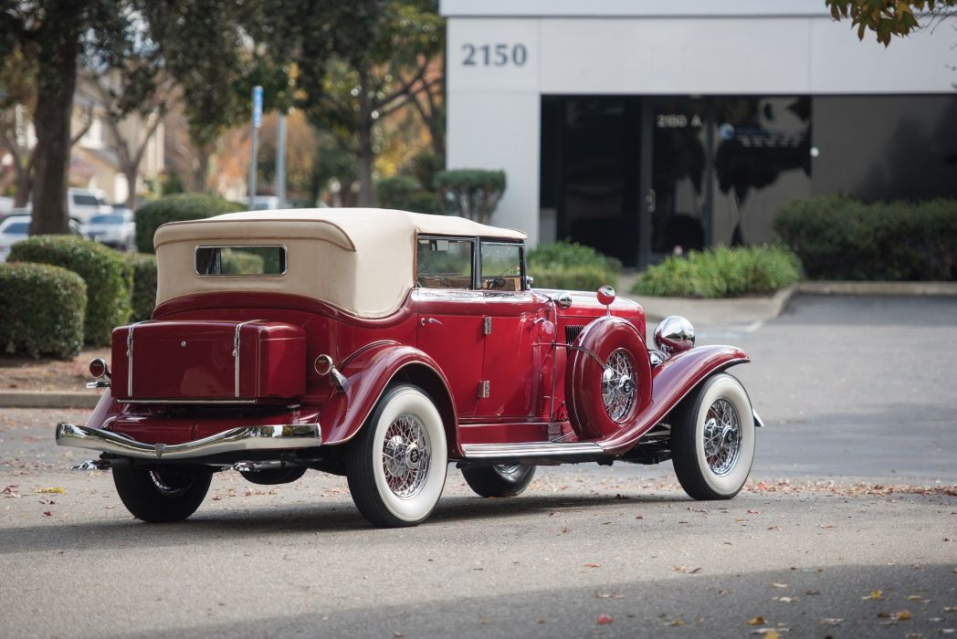 1934 Auburn V12 1250 Salon Dual Ratio Phaeton Sedan classic cars wallpaper
