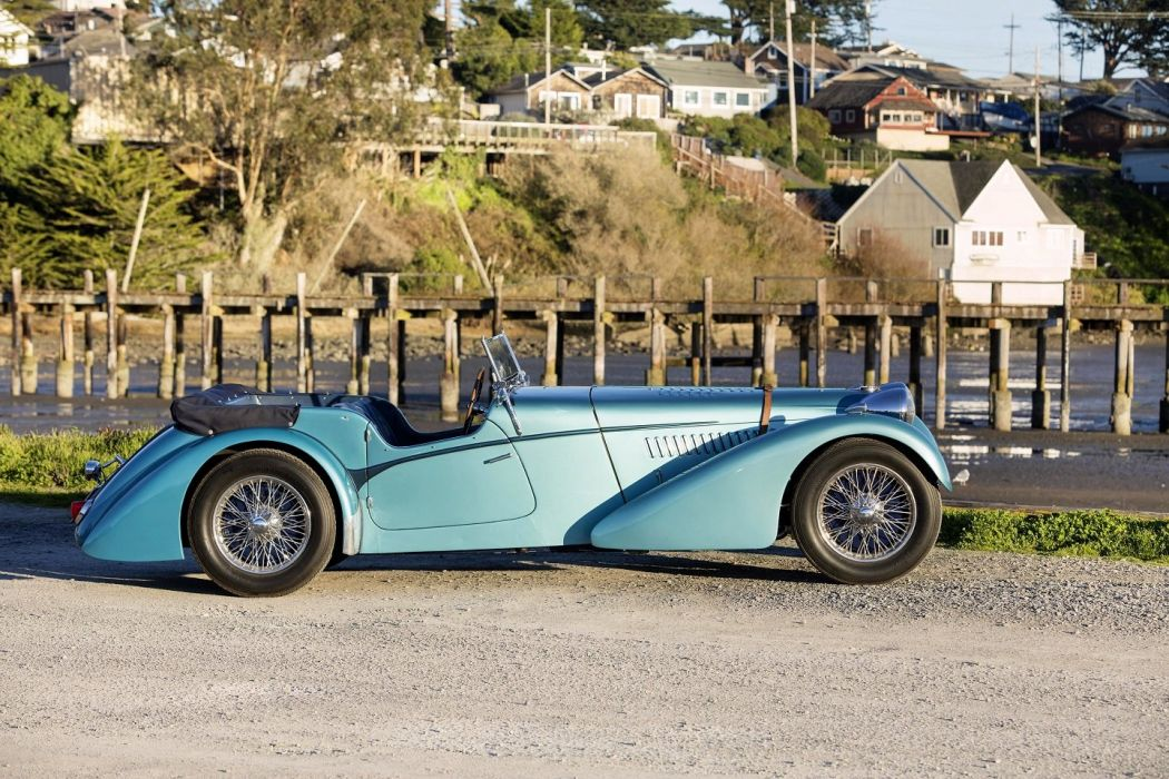 Bugatti Type 57SC Roadster by Vanden Plas 1938 cars classic wallpaper
