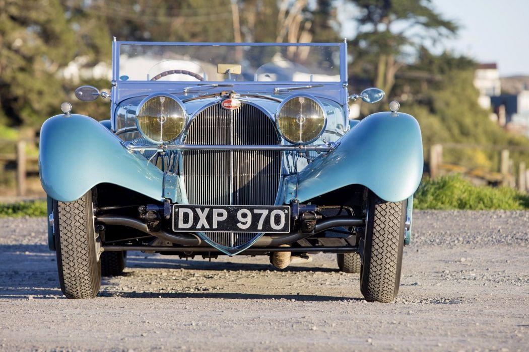 Bugatti Type 57SC Roadster by Vanden Plas 1938 cars classic wallpaper