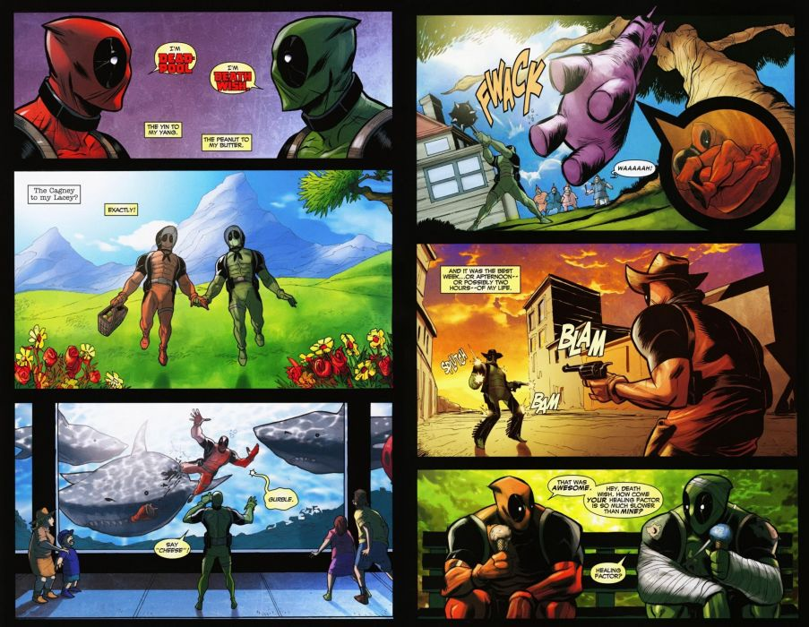 DEADPOOL marvel superhero comics hero warrior action comedy adventure poster wallpaper