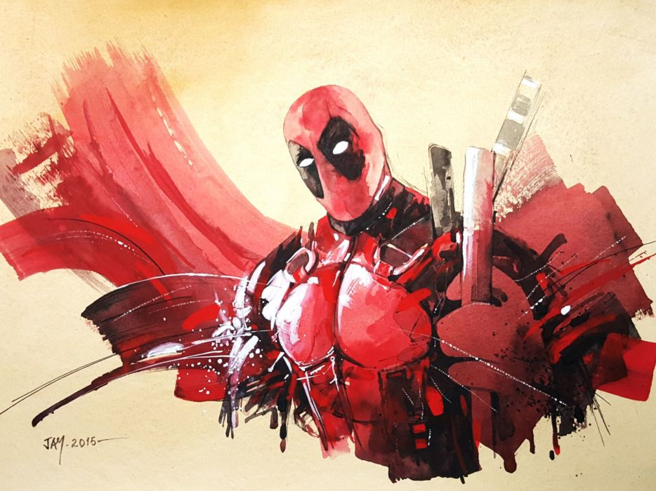 DEADPOOL marvel superhero comics hero warrior action comedy adventure wallpaper