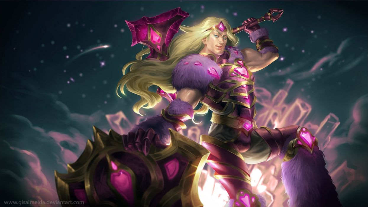 League of Legends: Taric of the Fifth Age by GisAlmeida wallpaper
