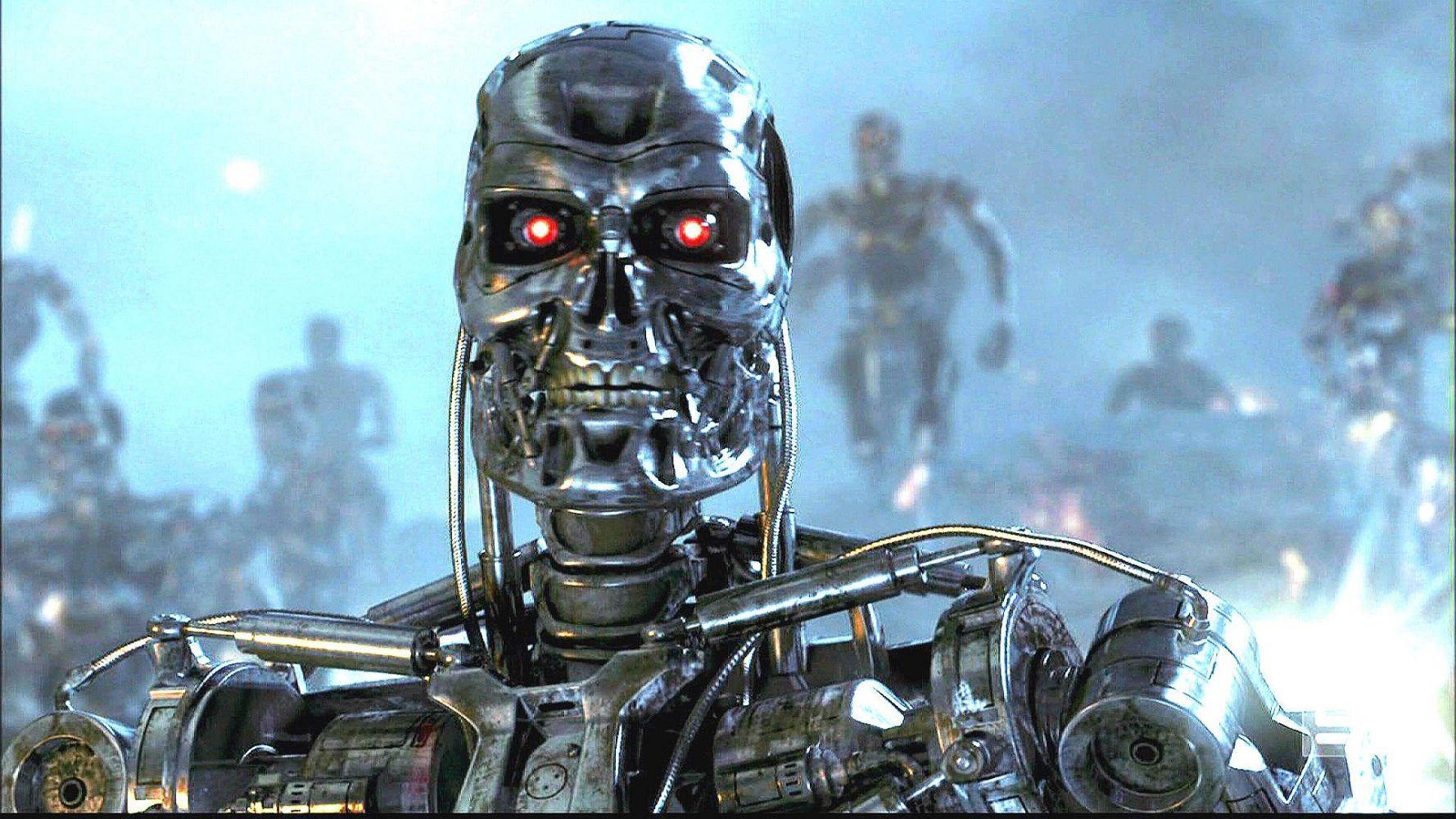 терминатор фото всех роботов улыбка позиционируется красотой