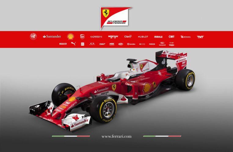 2016 Ferrari SF16-H formula one wallpaper