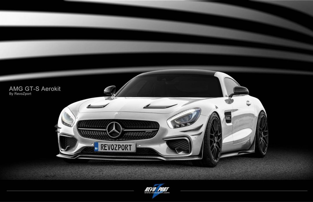 2016 RevoZport Mercedes AMG GTS cars modified wallpaper