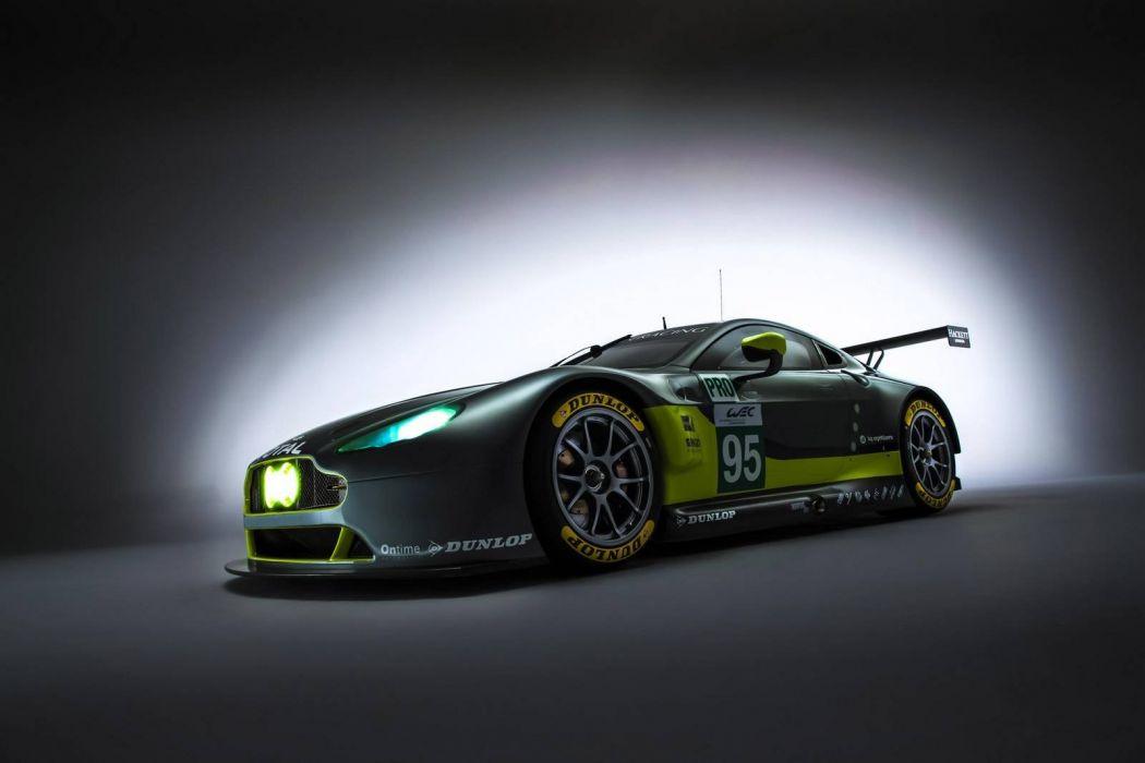 Aston Martin V8 Vantage GTE cars racecars 2016 wallpaper