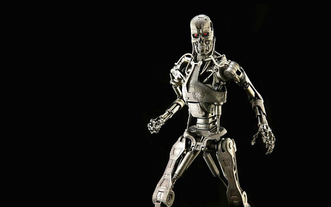 TERMINATOR robot cyborg sci-fi futuristic wallpaper
