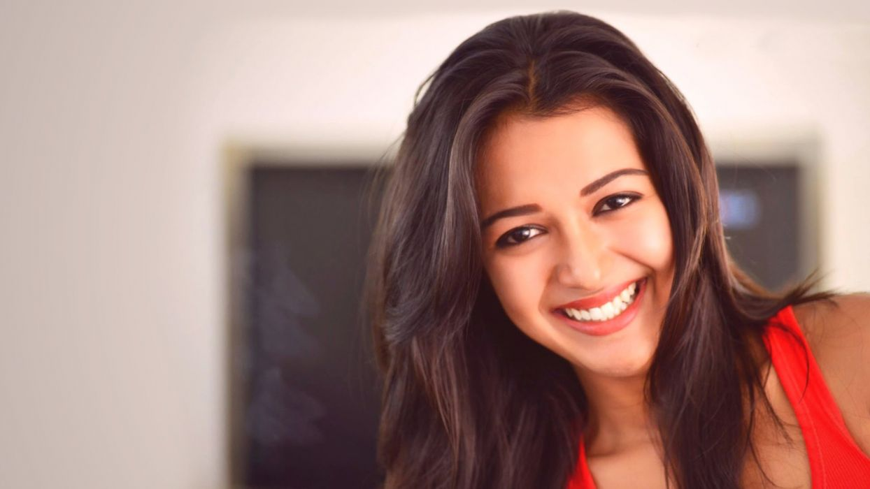 catherine tresa bollywood actress model girl beautiful brunette pretty cute beauty sexy hot pose face eyes hair lips smile figure indian  wallpaper