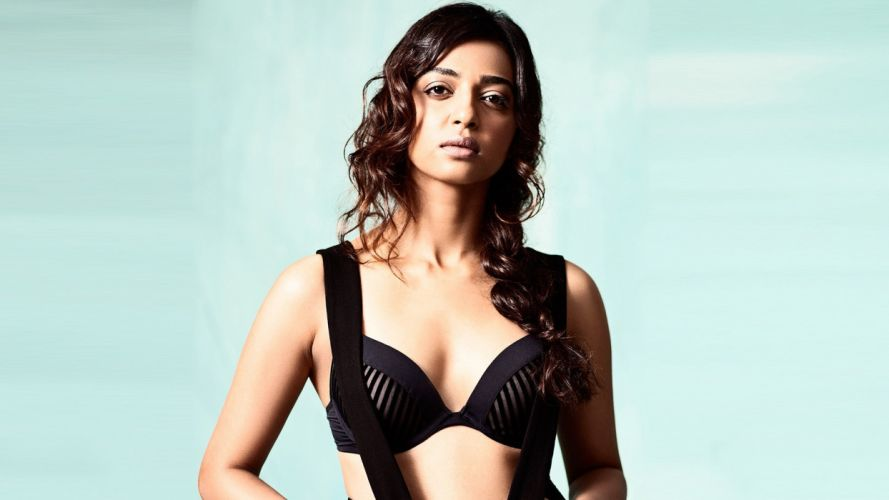 Radhika Apte bollywood actress model girl beautiful brunette pretty cute beauty sexy hot pose face eyes hair lips smile figure indian wallpaper