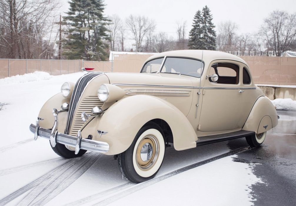 1936 Hudson Custom Eight Business Coupe cars classic wallpaper