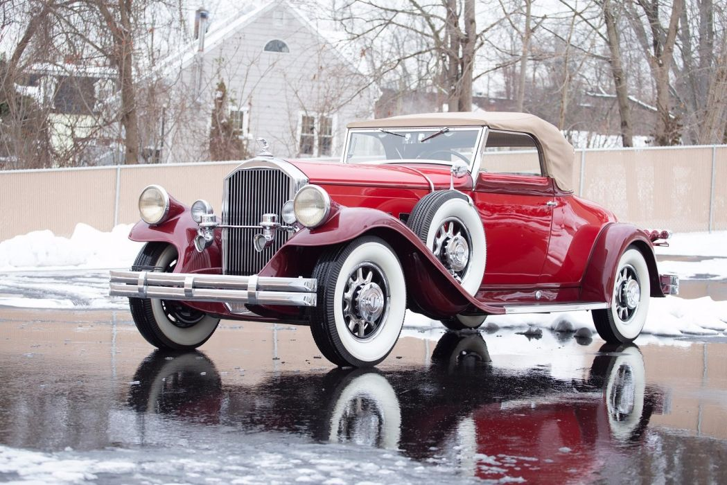 1931 Pierce Arrow Model 42 Convertible Coupe cars classic wallpaper