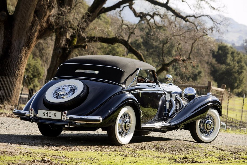 1937 Mercedes Benz 540K Cabriolet A cars classic wallpaper