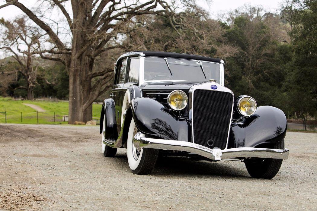 1936 Delage D8 100 Coupe Chauffeur par Franay cars classic wallpaper