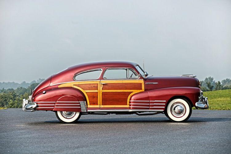1948 1Chevrolet Fleetline 2-door Country Club Aero Sedan cars classic wallpaper