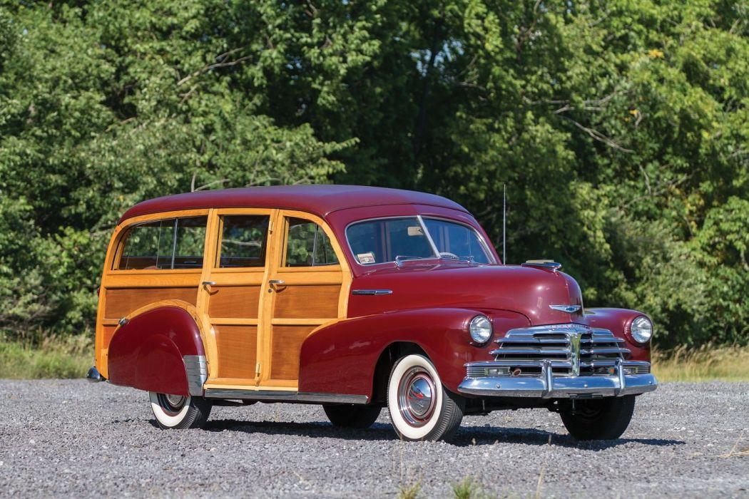 1948 Chevrolet Fleetmaster Station Wagon cars classic wallpaper
