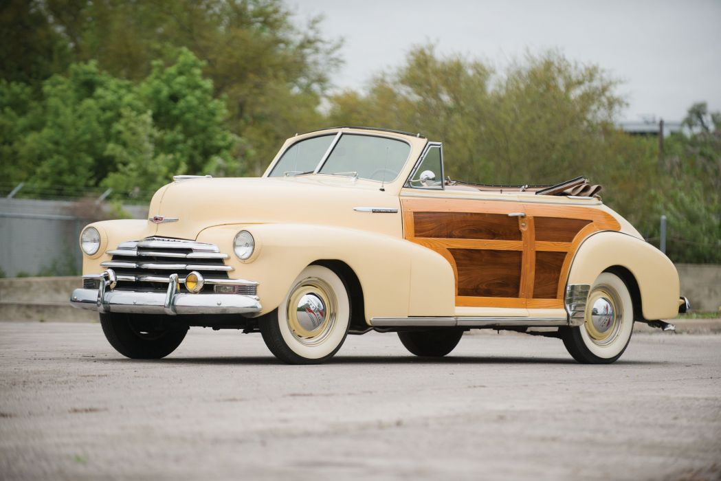 1947 Chevrolet Fleetmaster Country Club Convertible cars classic wallpaper