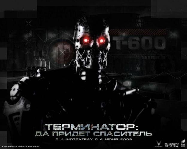 TERMINATOR robot cyborg sci-fi futuristic poster wallpaper