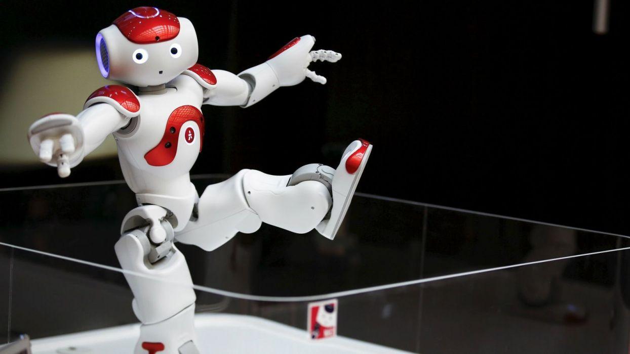 robot sci-fi futuristic technics cyborg wallpaper