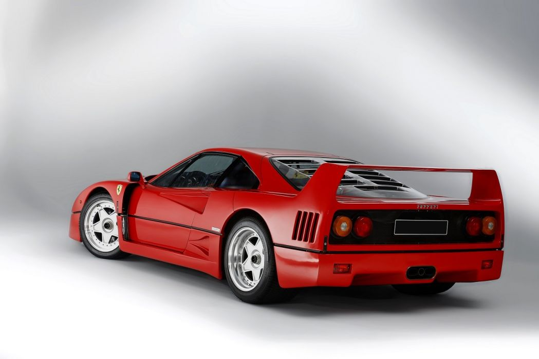 Ferrari F40 cars supercars red 1989 wallpaper