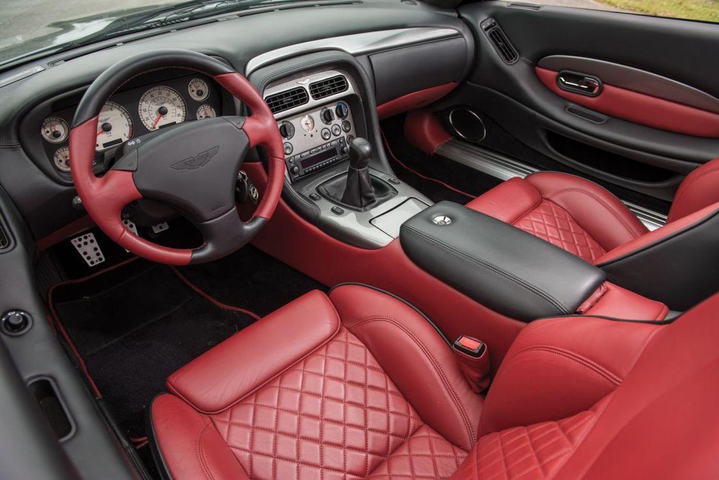 Aston Martin DB7 Zagato cars convertible 2003 wallpaper