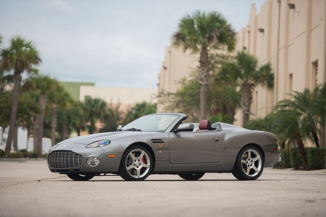 Aston Martin DB7 Zagato cars convertible 2003 wallpaper