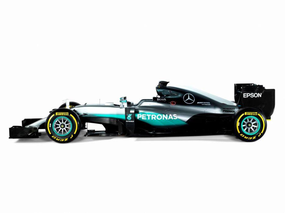 2016 Mercedes AMG F1 W07 Hybrid Formula one cars racecars wallpaper