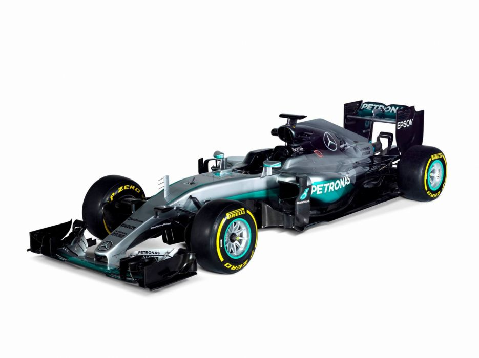 2016 Mercedes AMG F1 W07 Hybrid Formula one cars racecars wallpaper
