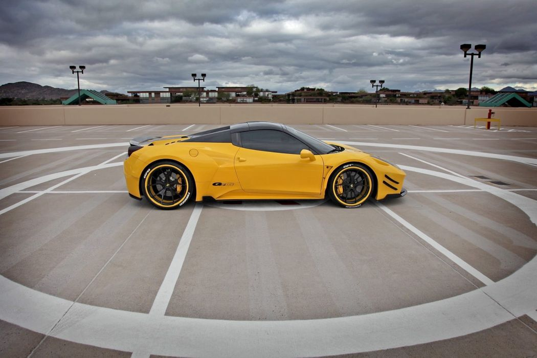2016 Prior Design PD458 spider Aero Kit ferrari 458 italia red modified wallpaper