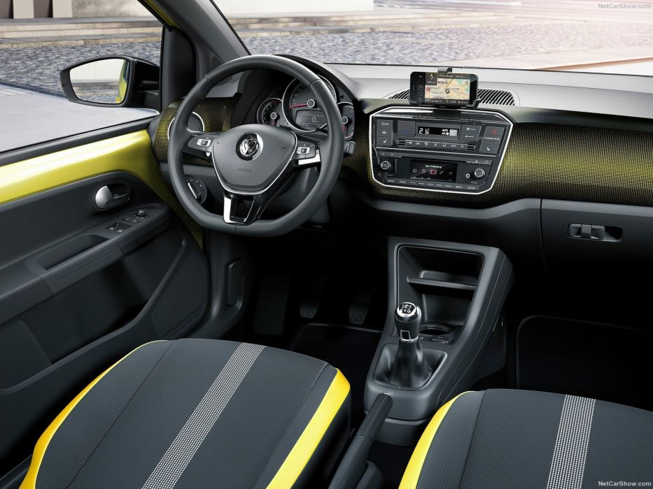 Volkswagen Up cars 2016 interior wallpaper