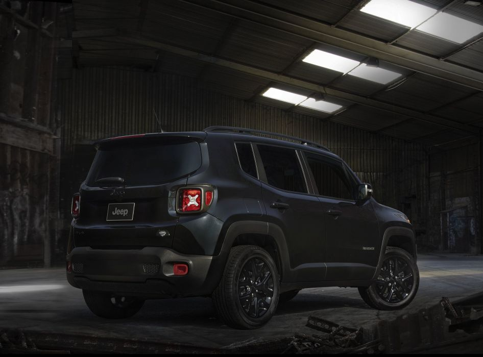 2016 Jeep Renegade Dawn of Justice cars suv black wallpaper