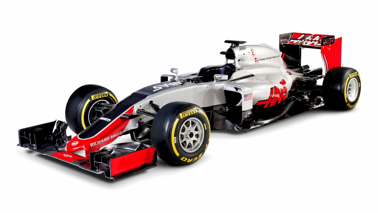 Haas VF-161 cars racecars formula one 2016 wallpaper