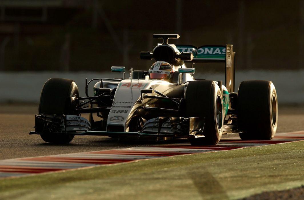 Mercedes AMG F1 W07 Hybrid cars racecars formula one 2016 wallpaper