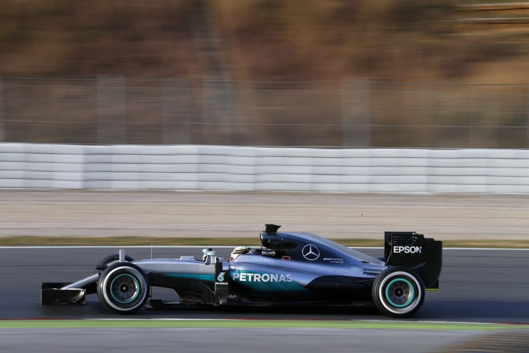 Mercedes AMG F1 W07 Hybrid cars racecars formula one 2016 wallpaper