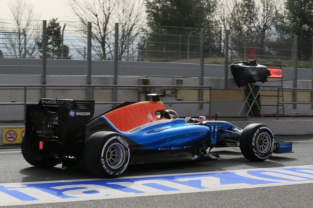 Manor Mercedes MRTO5 cars racecars formula one 2016 wallpaper