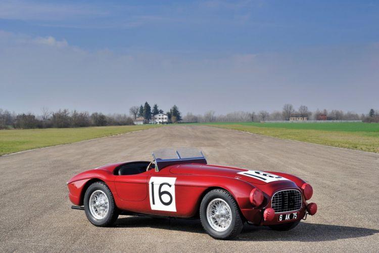 Ferrari 340 America Barchetta cars classic 1951 wallpaper