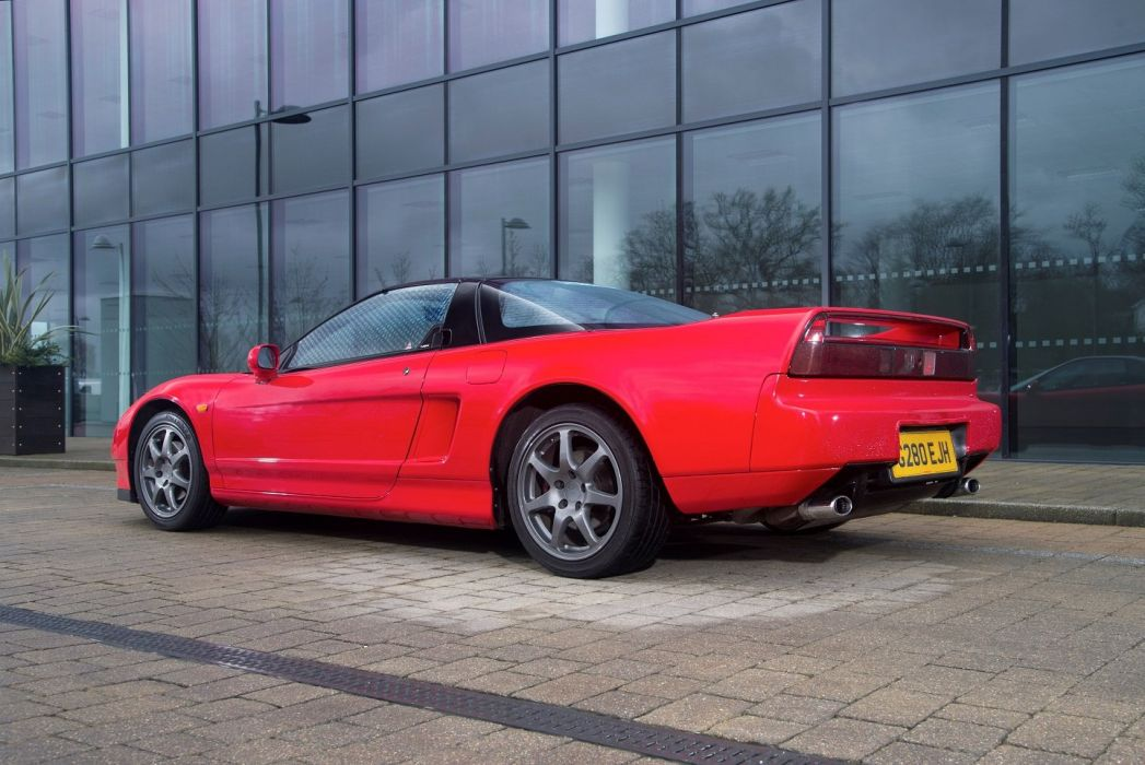 Honda NSX UK-spec (NA1) 1990 2001 cars coupe red wallpaper