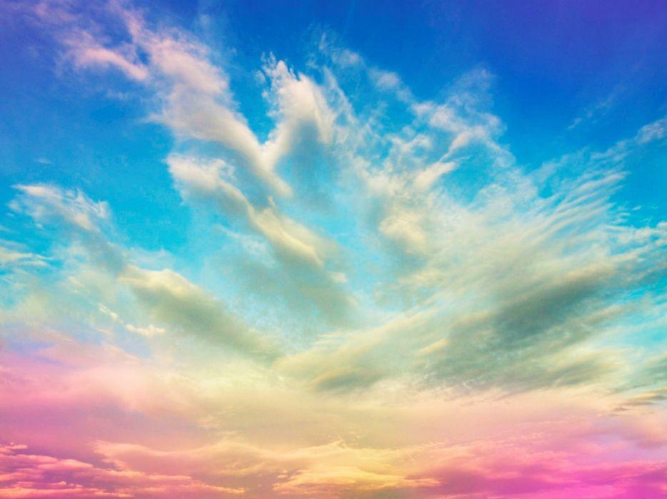 cielo nubes colores naturaleza wallpaper