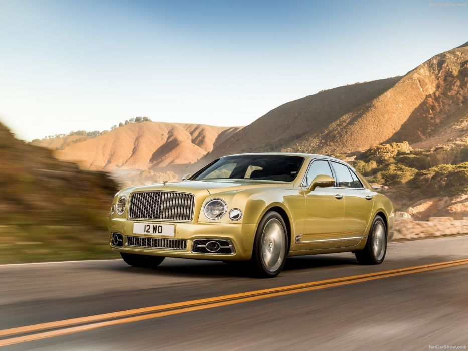 Bentley Mulsanne cars luxury sedan speed 2016 wallpaper