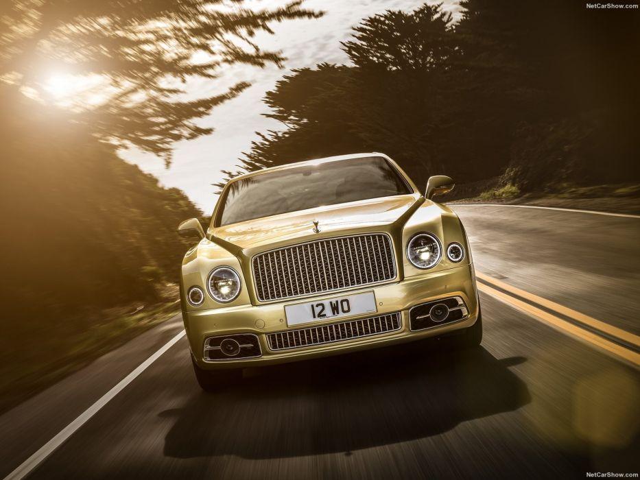 Bentley Mulsanne cars luxury sedan speed 2016 wallpaper