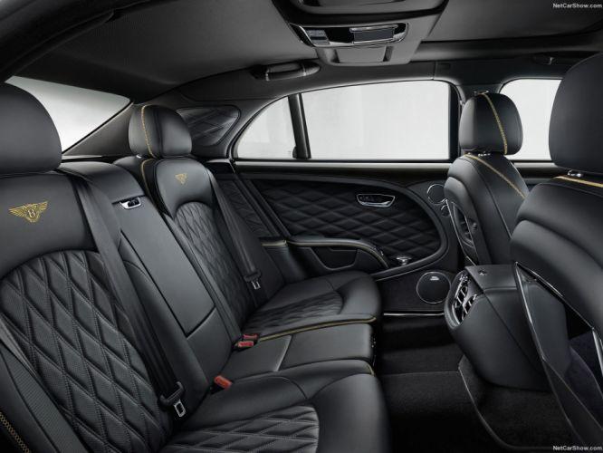 Bentley Mulsanne cars luxury sedan speed 2016 interior wallpaper
