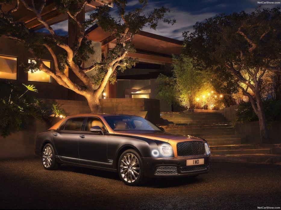 Bentley Mulsanne cars luxury sedan EWB 2016 wallpaper