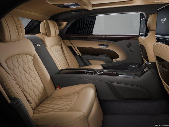 Bentley Mulsanne cars luxury sedan EWB 2016 interior wallpaper