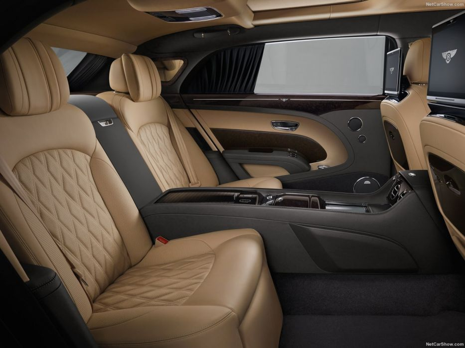 Bentley Mulsanne cars luxury sedan EWB 2016 interior wallpaper