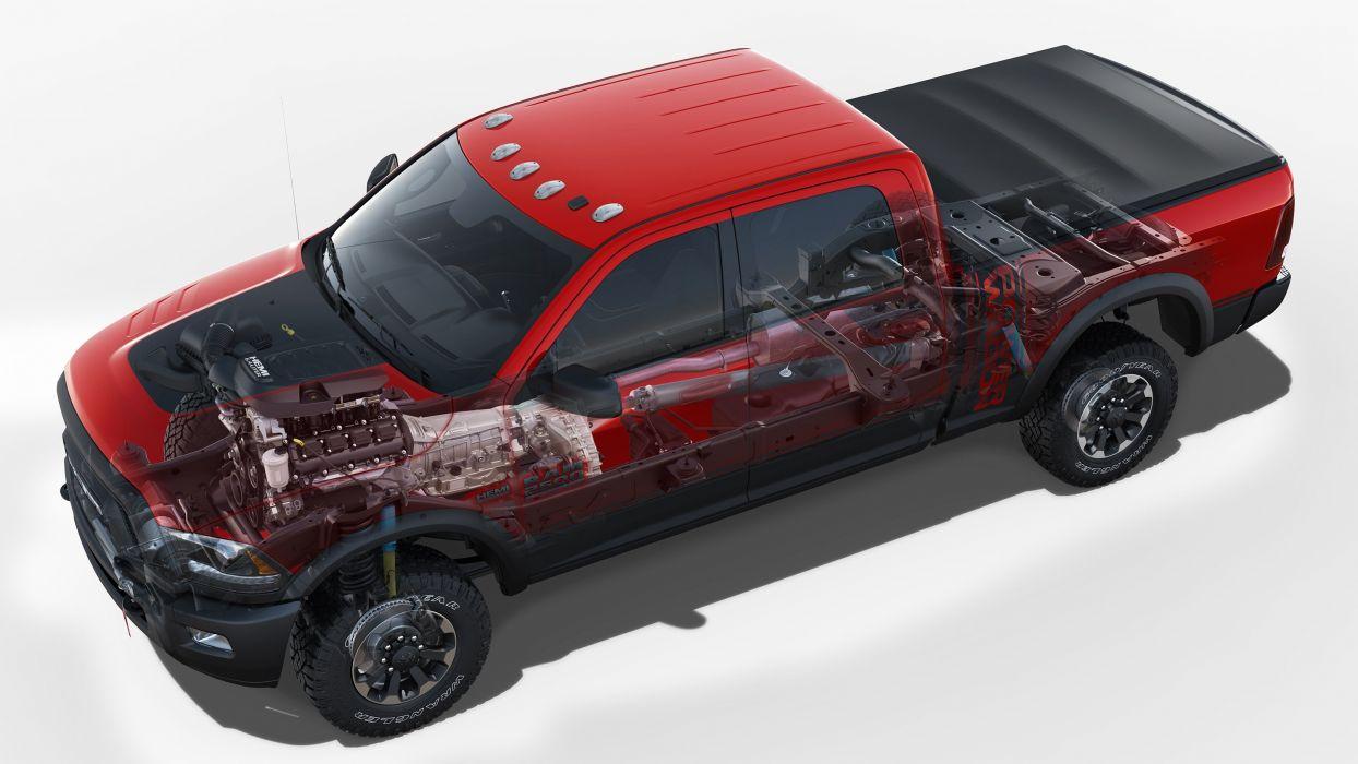 ram 2500 power wagon crew cab truck cars pickup cutaway wallpaper