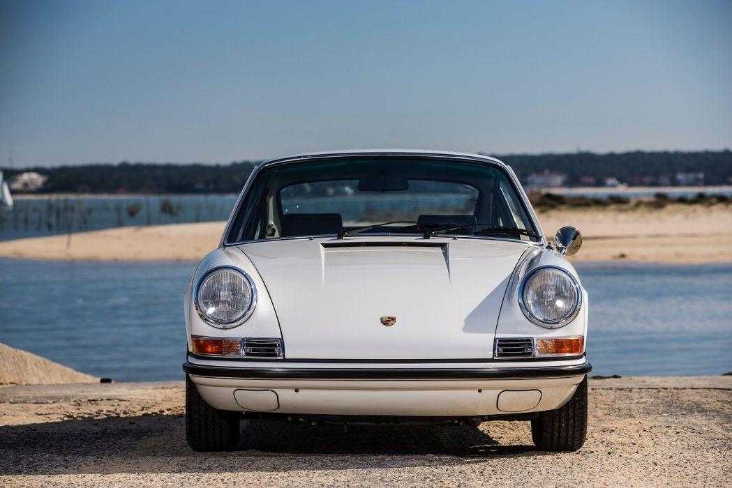 Porsche 911 E 2 2 Coupe (911) cars white 1969 1971 wallpaper