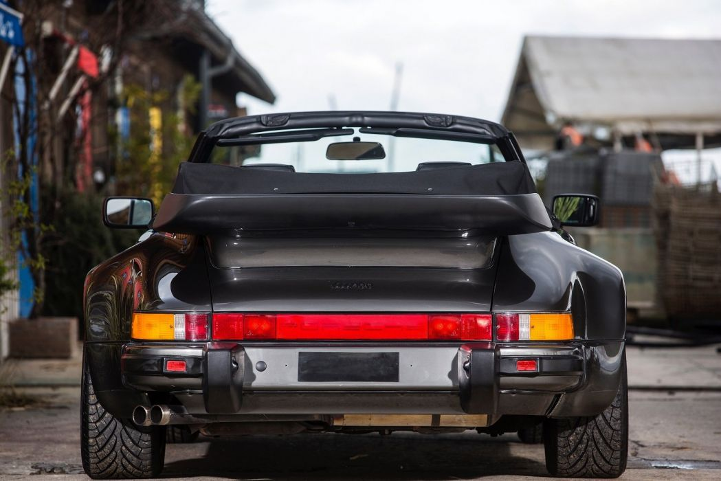 Porsche 911 Turbo 3 3 Cabriolet (930) cars 1987 1989 wallpaper