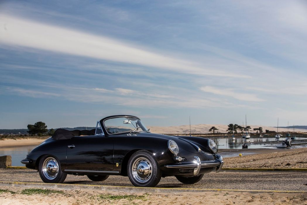 Porsche 356B 1600 Super 90 Cabriolet by Reutter (T5) 1960 1962 cars classic wallpaper