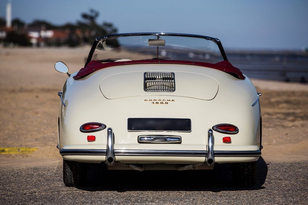 Porsche 356A 1600 Convertible D by Drauz (T2) 1958 1959 cars classic wallpaper