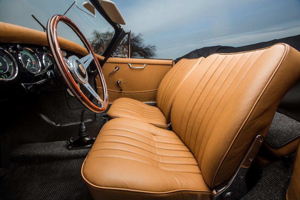 Porsche 356B 1600 Super 90 Cabriolet by Reutter (T5) 1960 1962 cars classic wallpaper