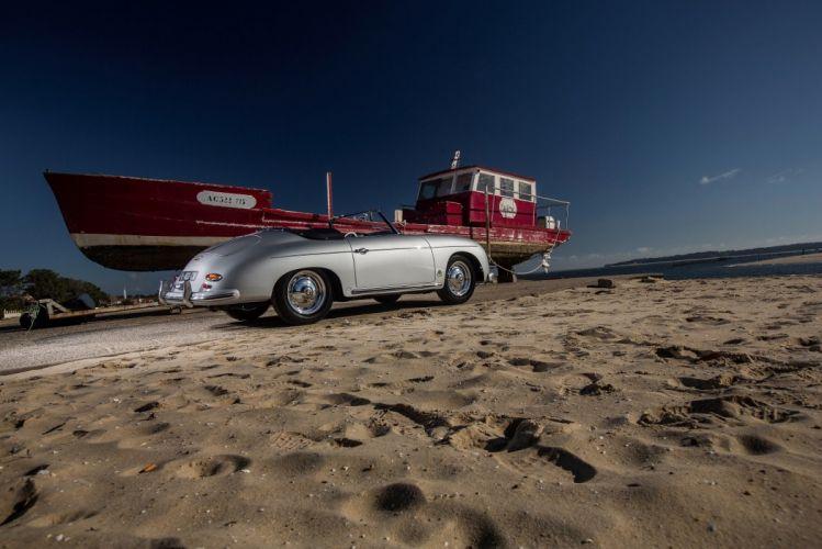 Porsche 356A 1600 Super Convertible D by Reutter 1958 1959 wallpaper